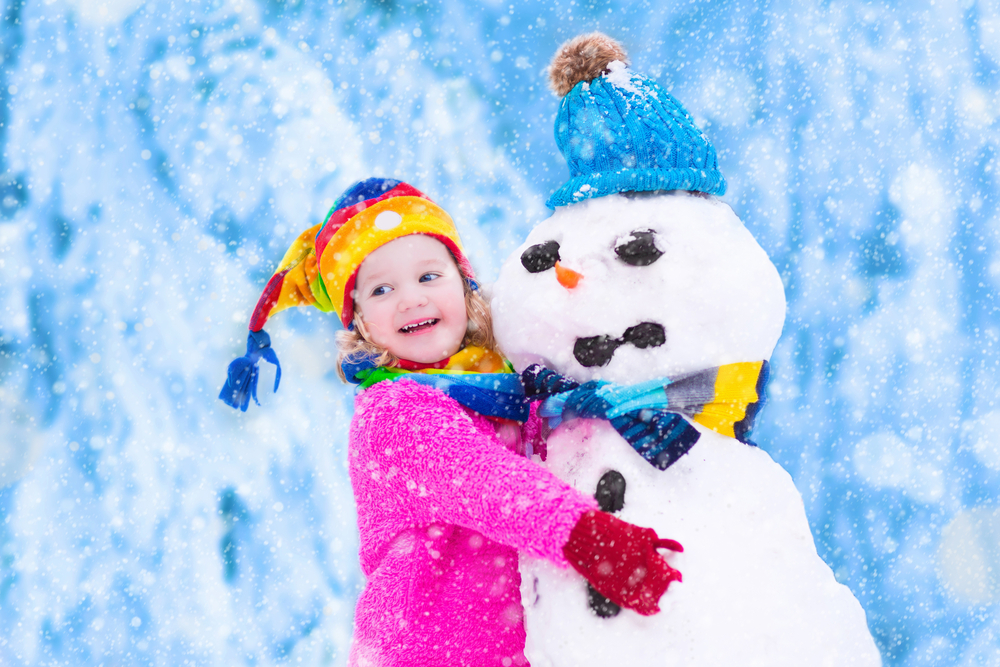 A snow party is a fantastic kids birthday party idea!