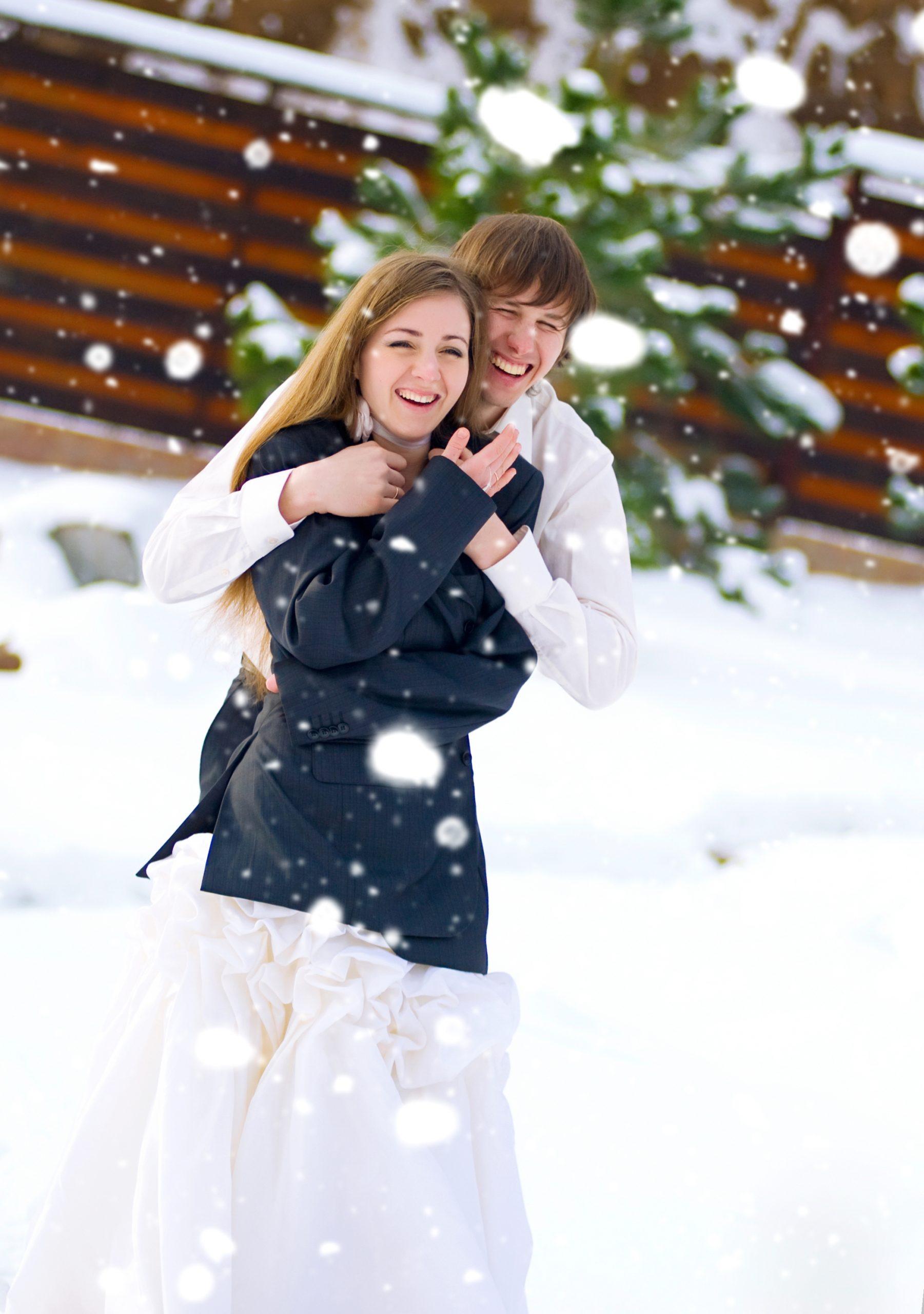 Snow Party Wedding