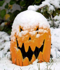 Halloween Snow Party