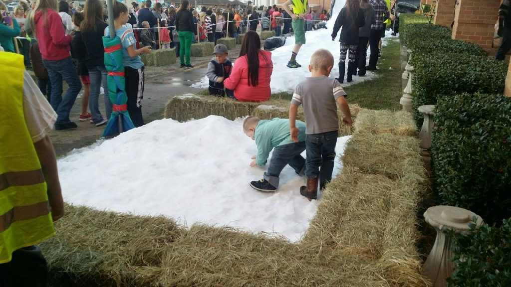 Snow parties for kids in Dallas-Fort Worth